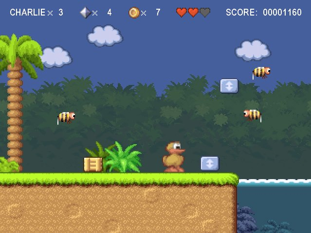 charlie the duck flash game