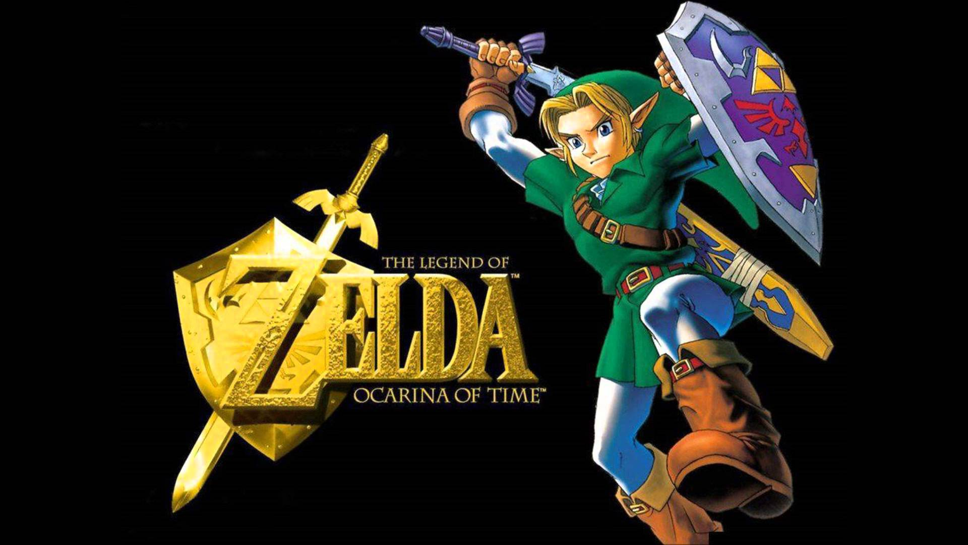legend of zelda ocarina of time wallpaper 1920x1080