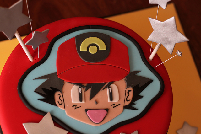 pokemon cake ash
