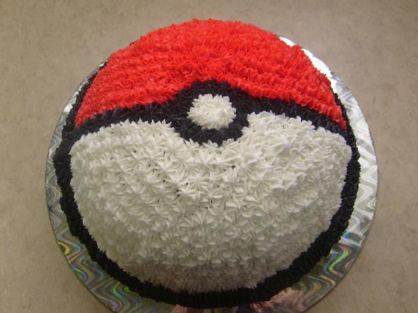 pokemon cake poke ball