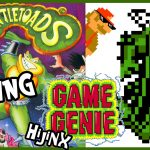 Hacking Battletoads (NES) – Game Genie Hijinx