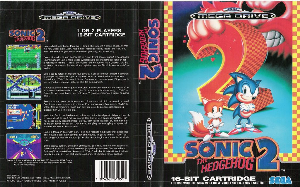Sonic The Hedgehog 2 Mega Drive Genesis System What S It All About Reviews Super Mayhem